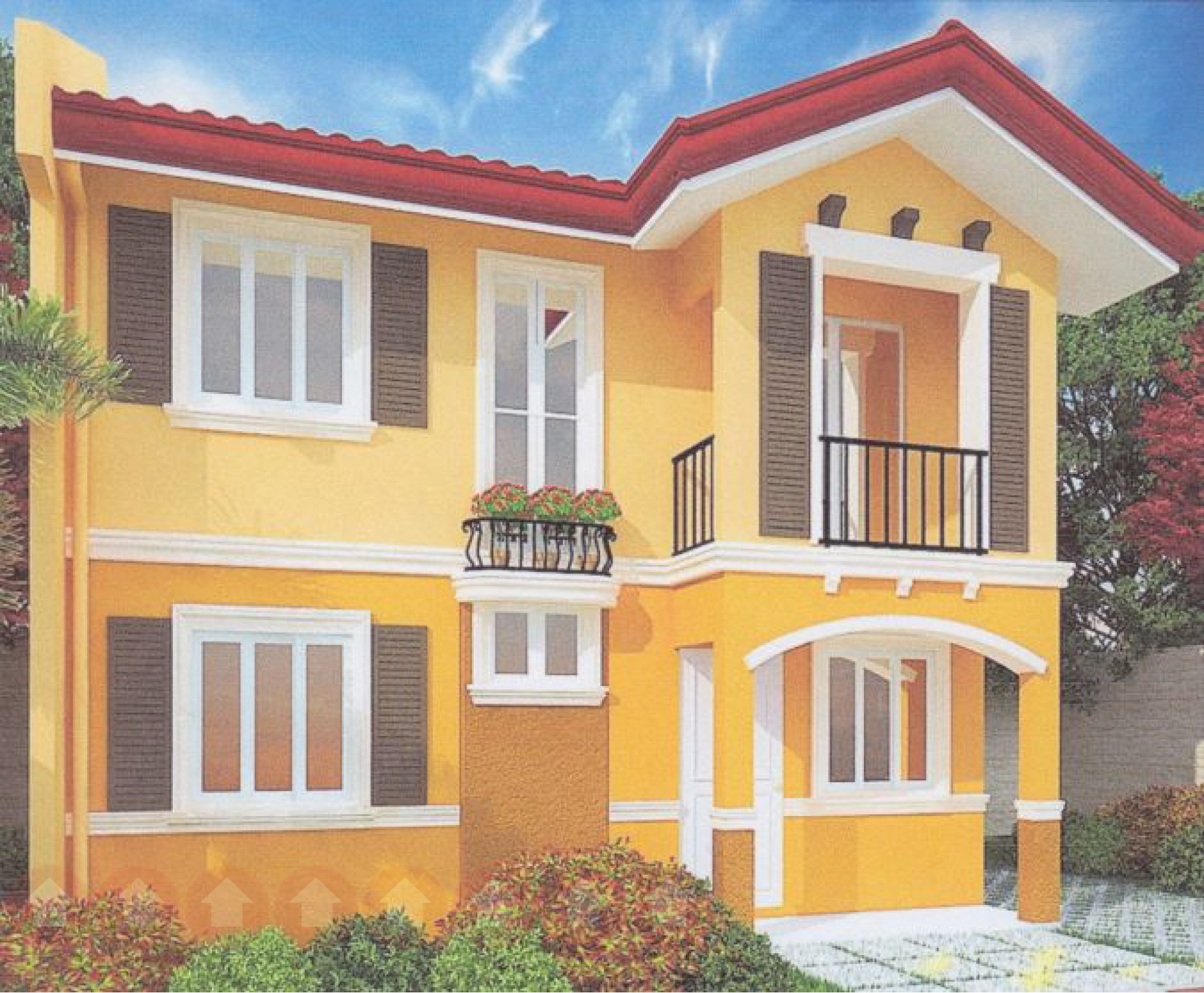 Fiona model house at Camella Davao