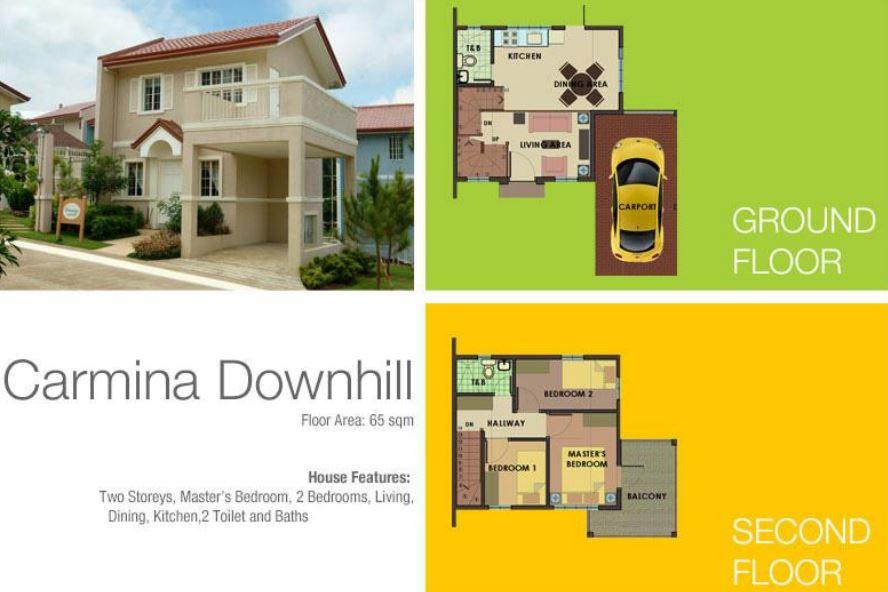 Carmina Downhill model house