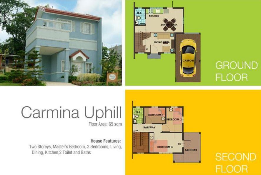 Carmina Uphill model house specs