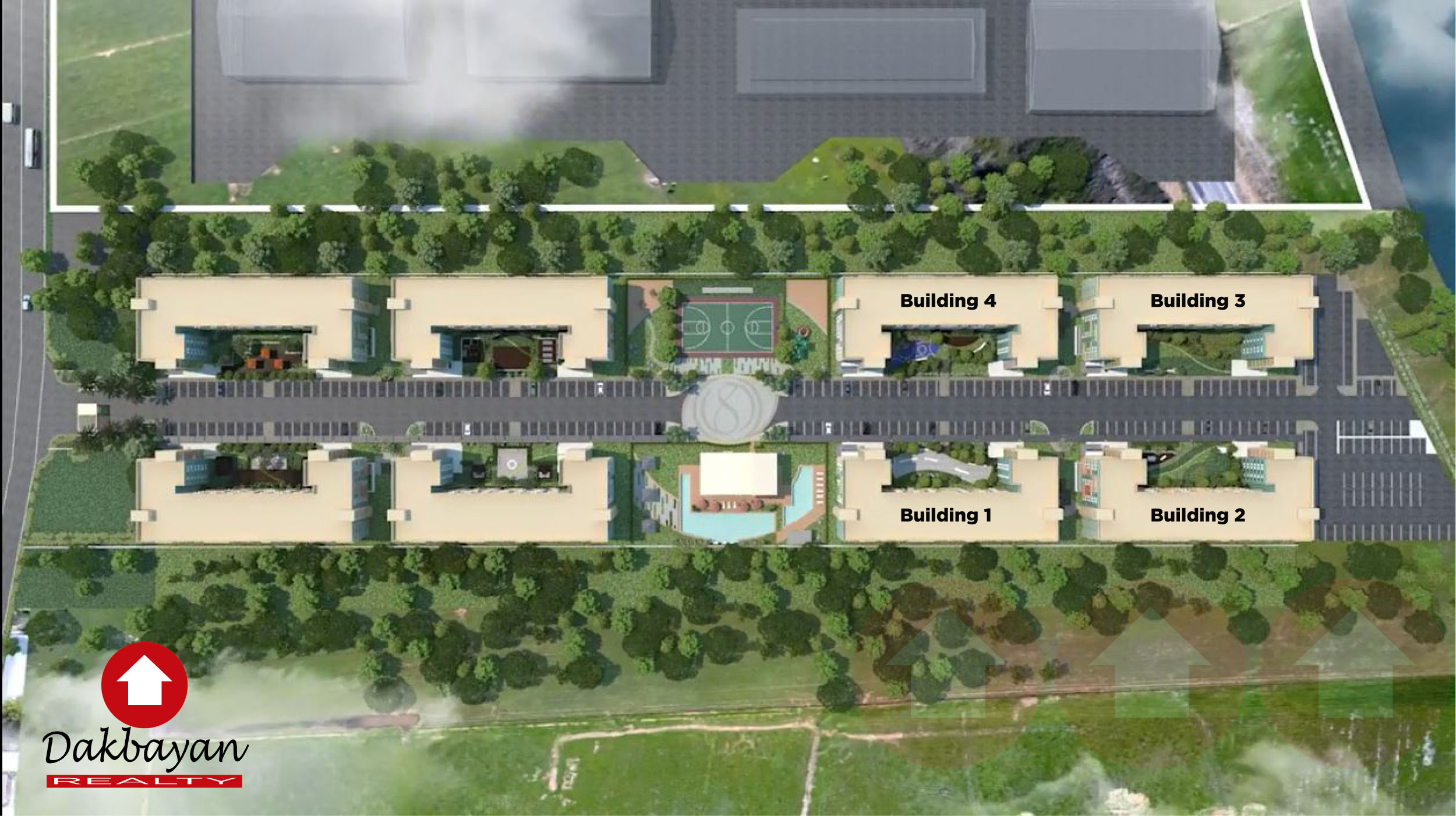 aerial perspective of 8 Spatial Davao