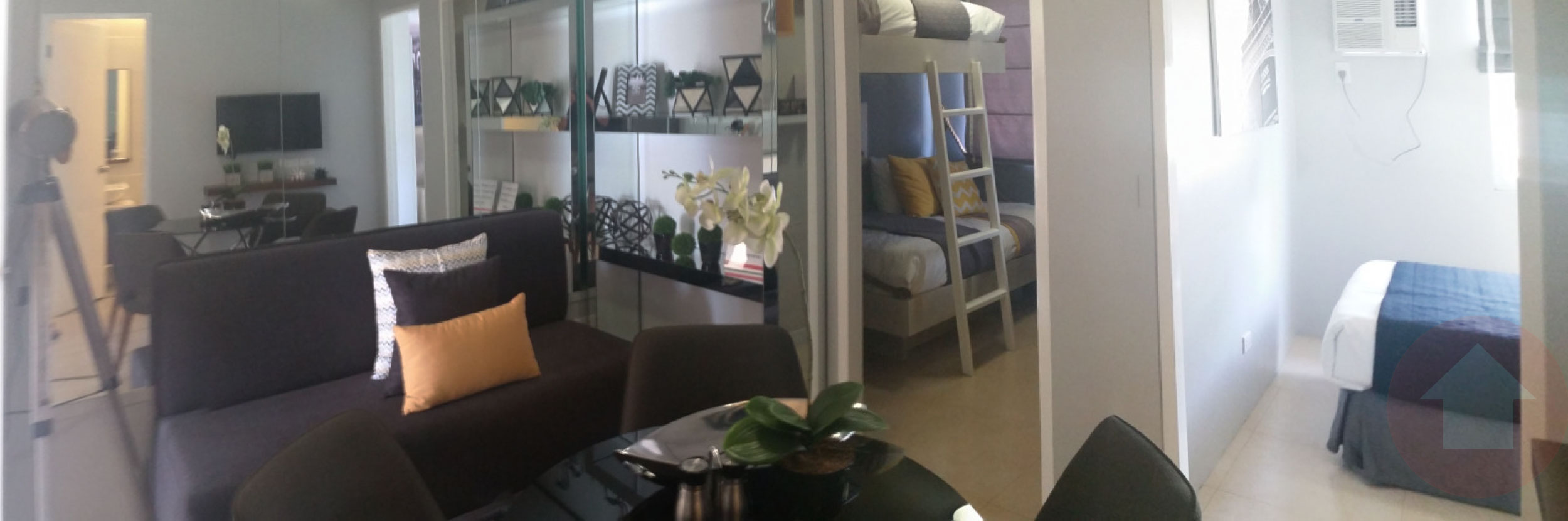 2 bedroom model unit of 8 Spatial Davao