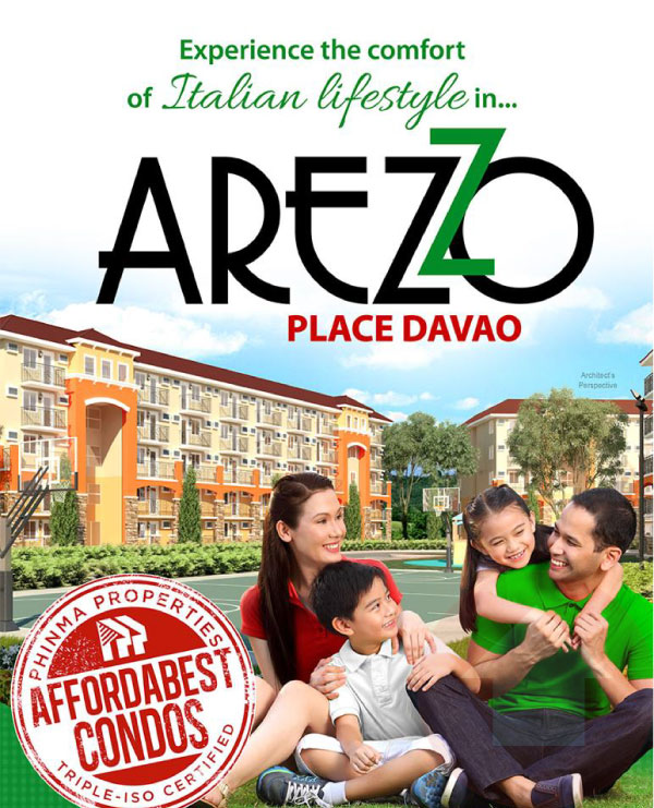 Arezzo Place Davao Promotional Page