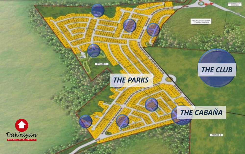 Northtown Davao site development map