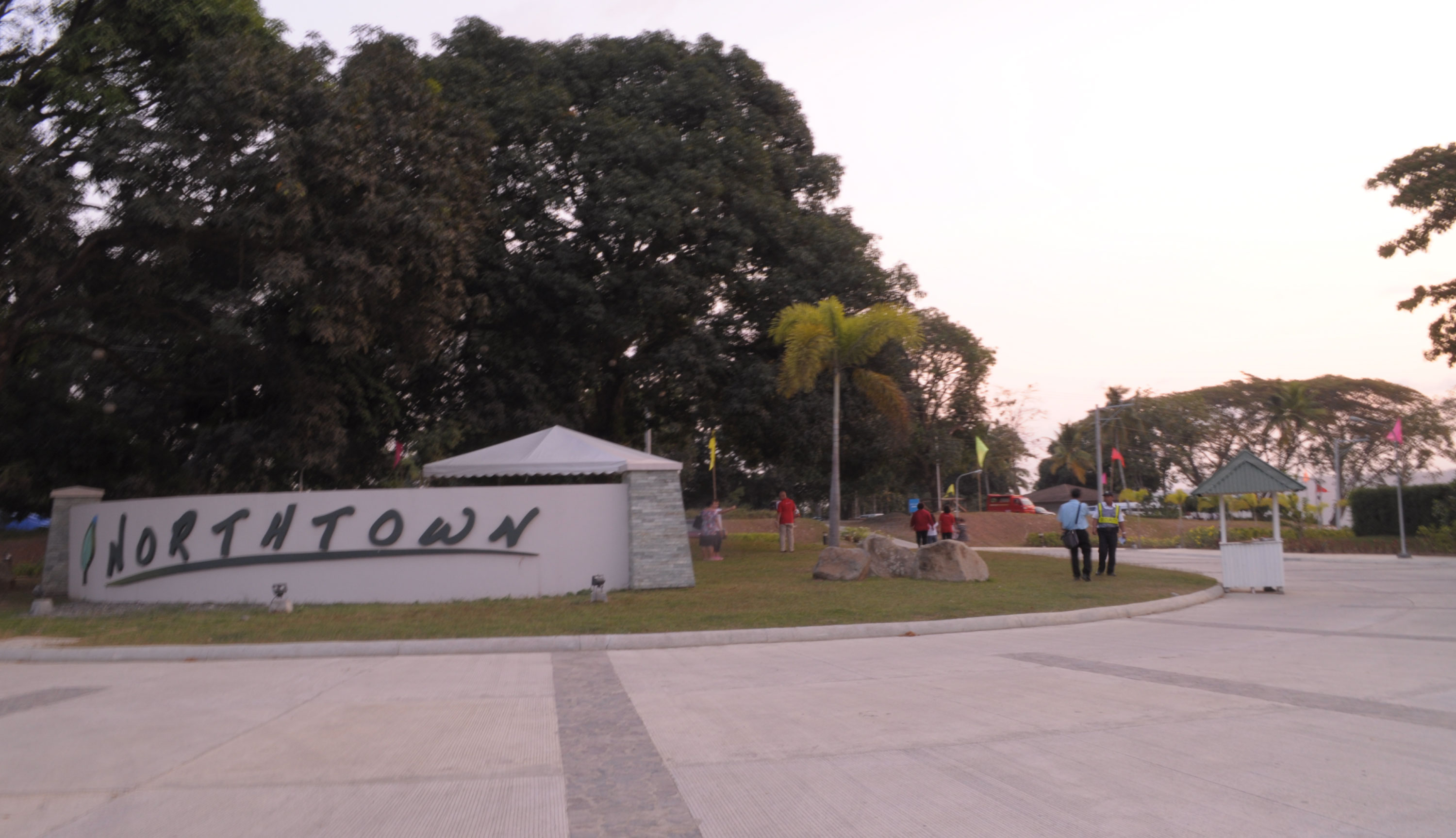 entrance of Northtown Davao