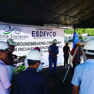 site groundbreaking at enclaves residences