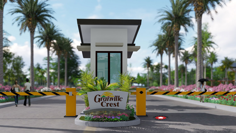 granville crest entrance - artist rendering