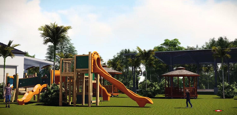granville crest playground - artist rendering
