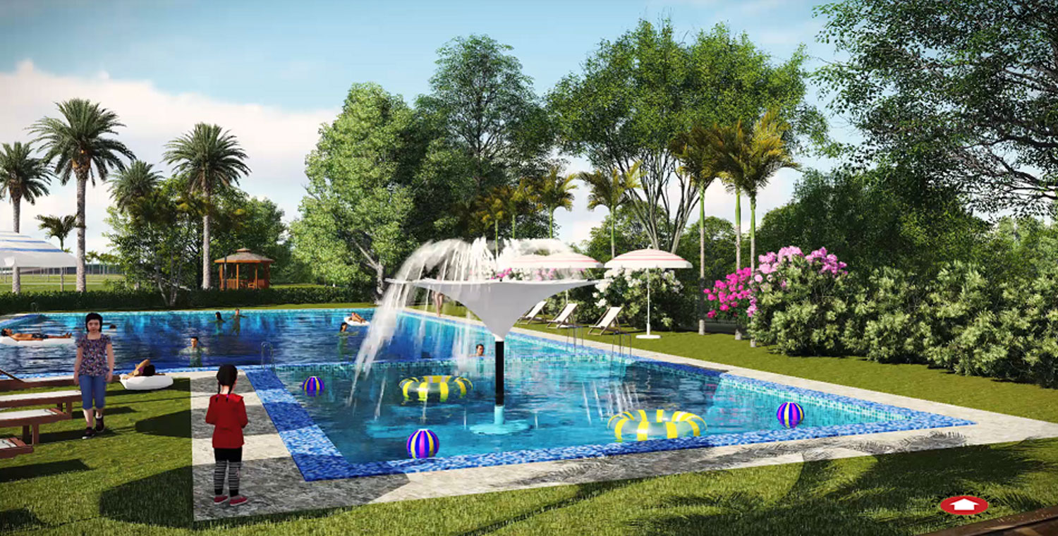 granville crest swimming pool - artist rendering