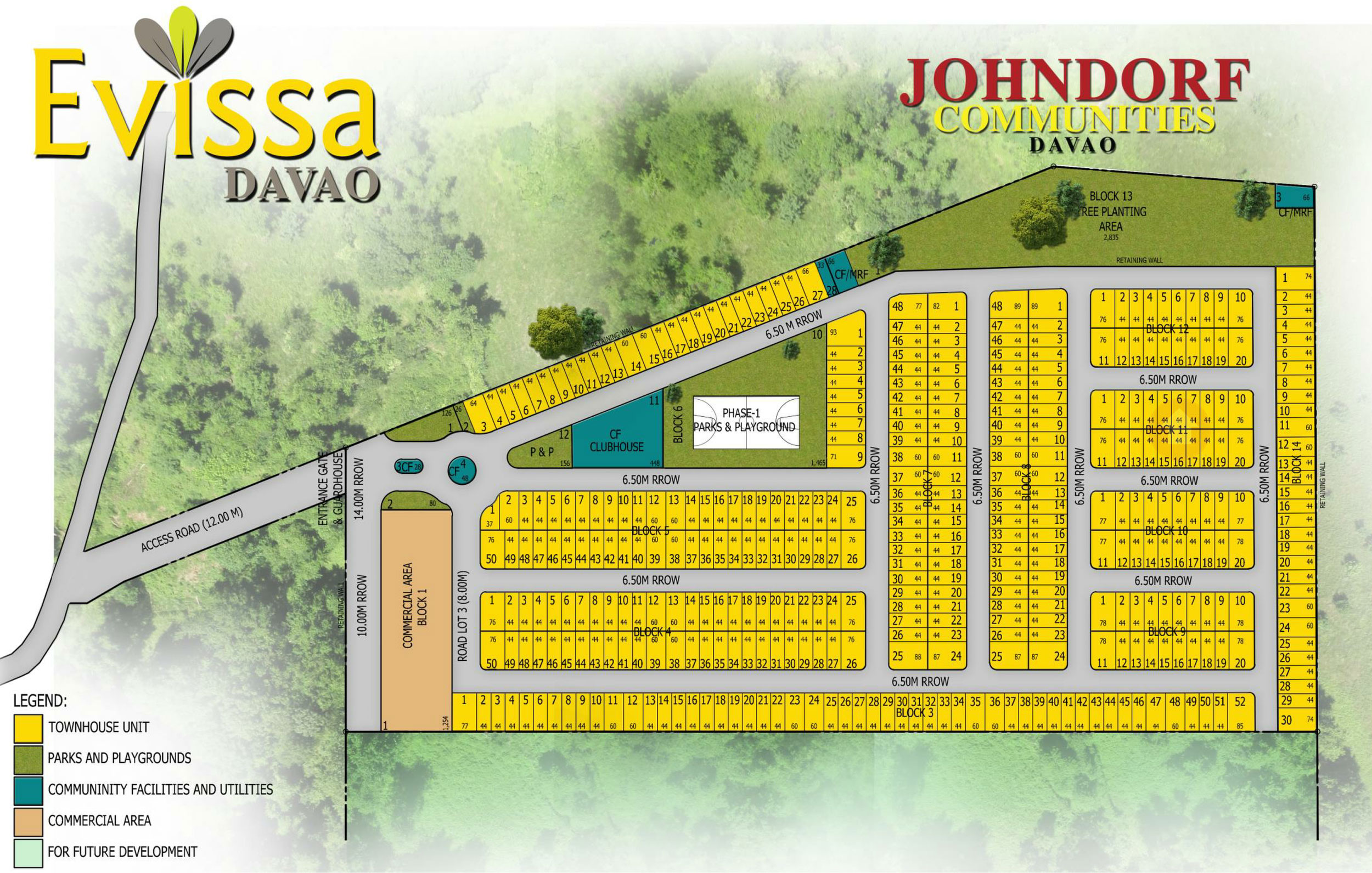 Evissa Davao Site Development Plan