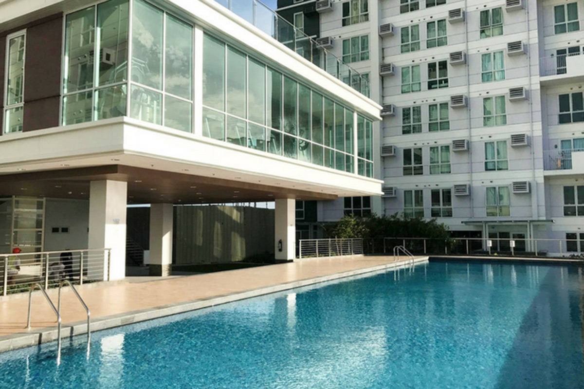 Studio unit for sale abreeza place condominium tower 1 - Apartelle in davao city with swimming pool ...