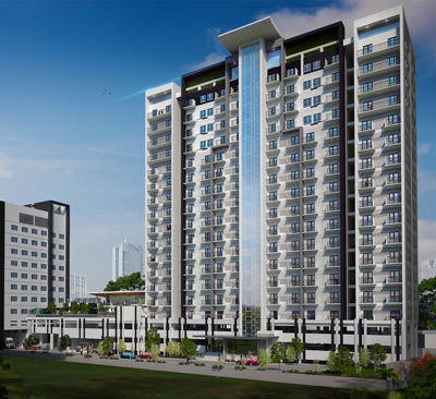 Artist rendering of Ivory Residences Condo
