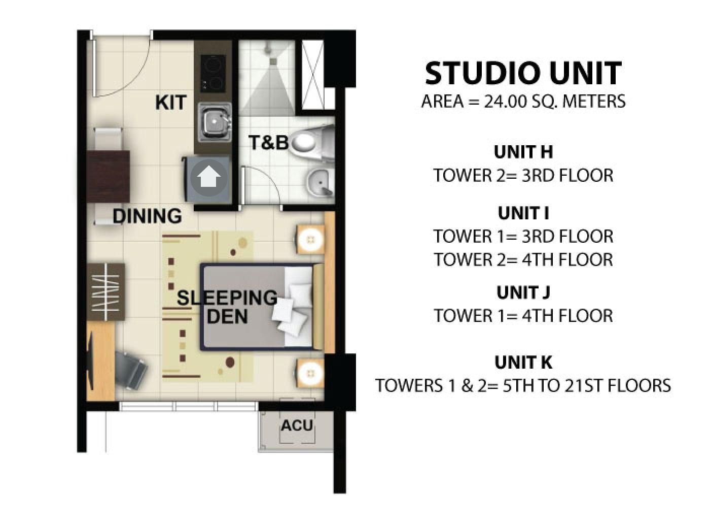 100 Floor Plan Studio Type Our Retirement Home