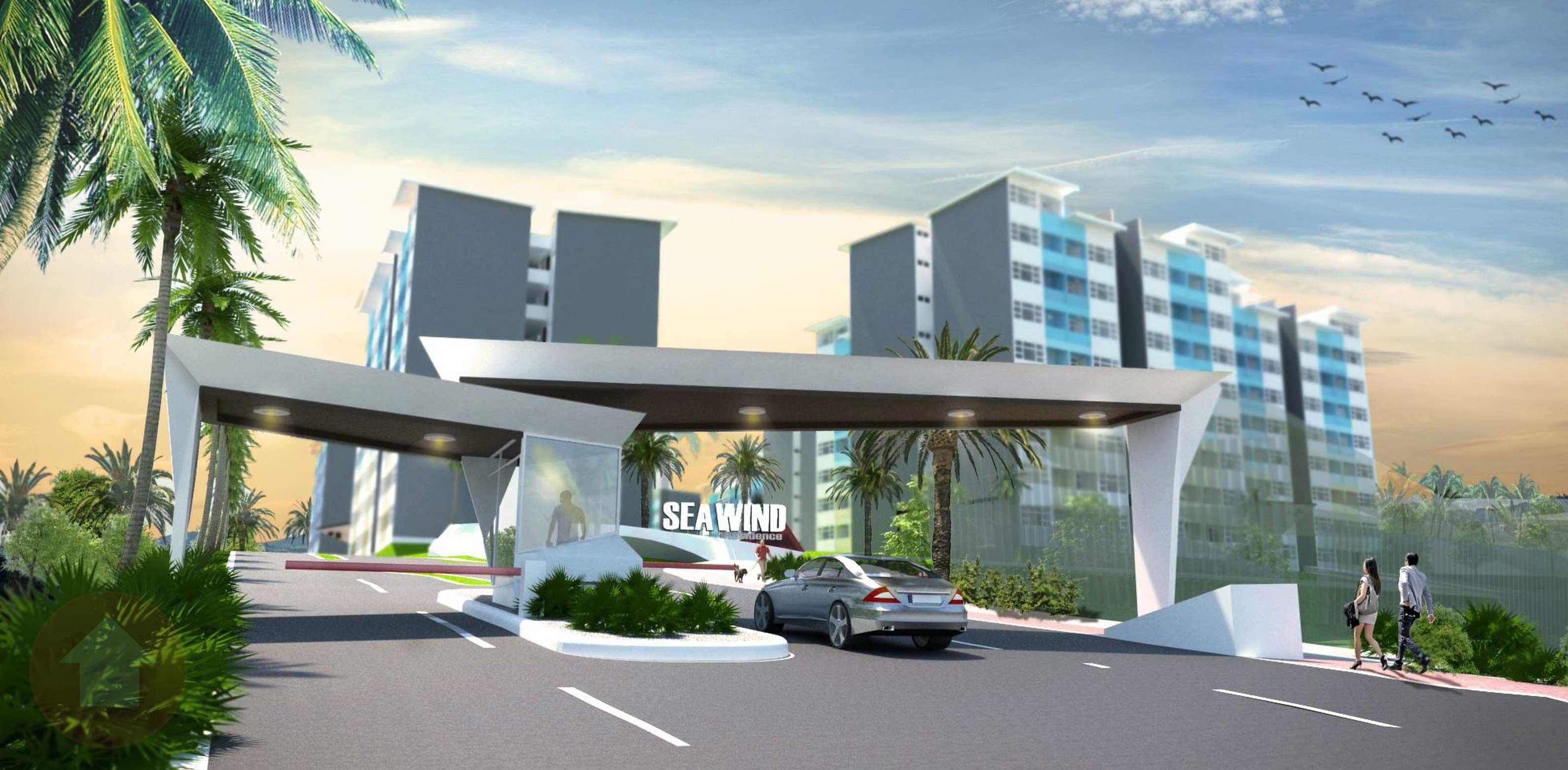 Seawind: mixed use condo development in Davao by Damosa Land