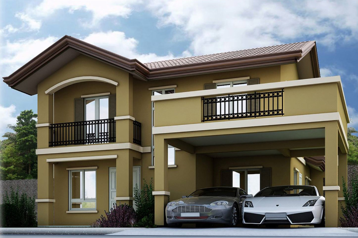 Camella davao housing subdivision within the planned for Houses models