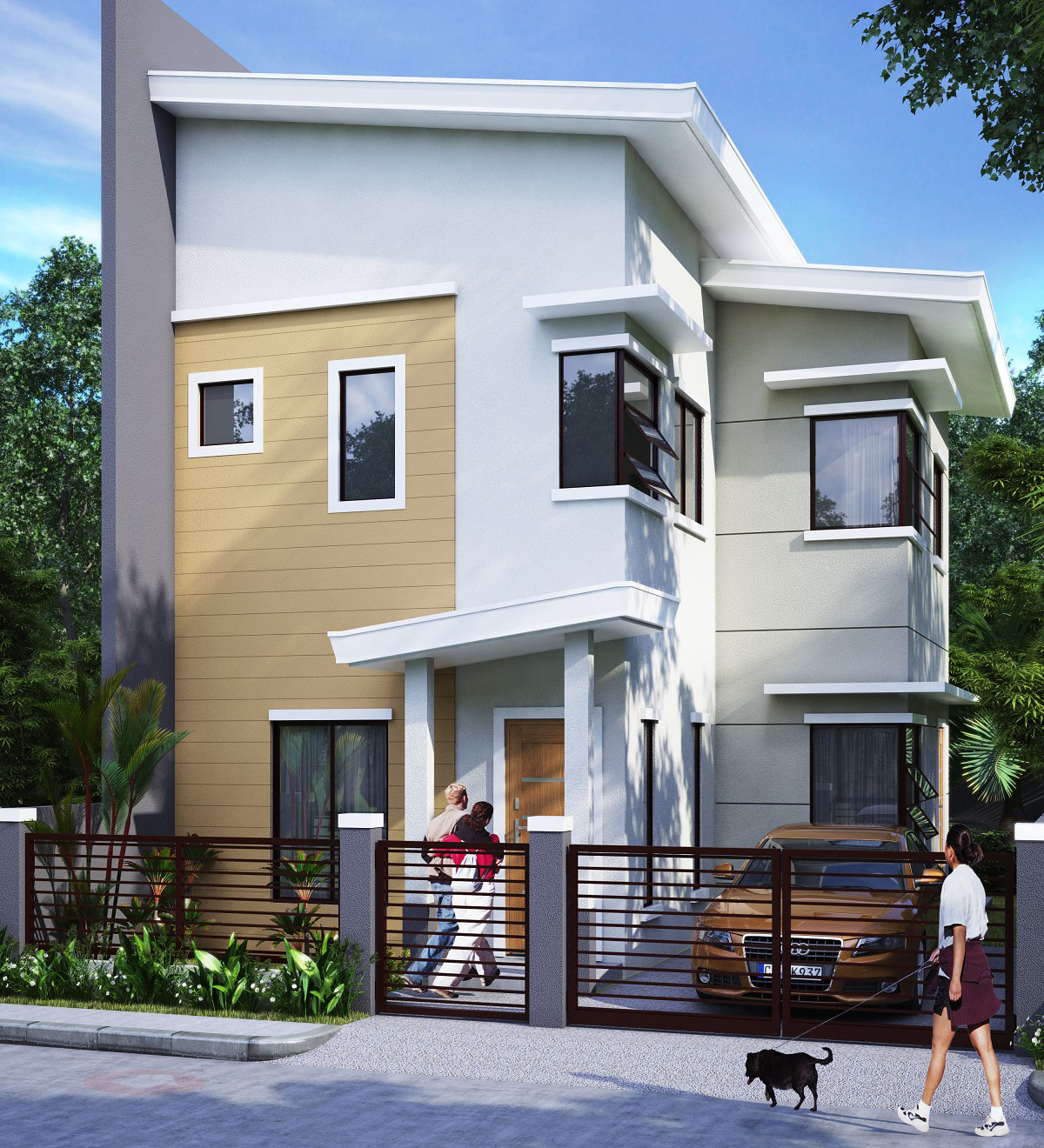 Granville iii subdivision economic and socialized housing for Apartment model house
