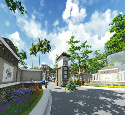 photo of Granville Subdivision Entrance - artist rendering