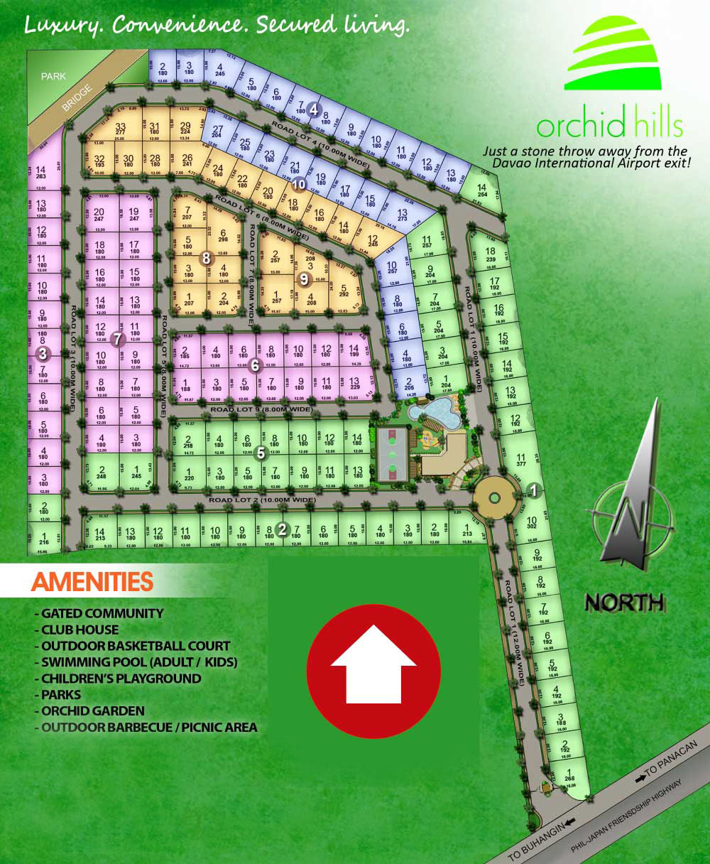 Orchid Hills: Asian Tropical inspired theme, open market ...
