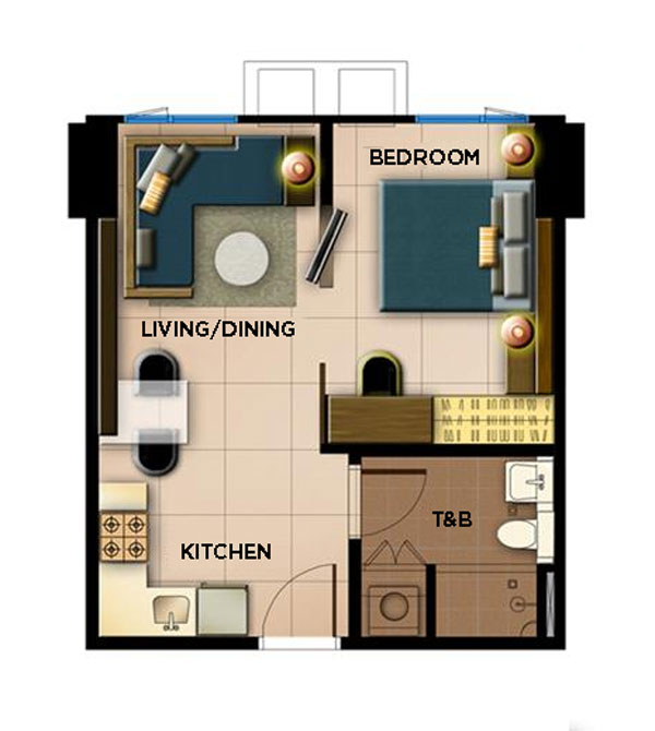 Brand New Ready For Occupancy One Bedroom Condo Unit For Sale Avida Towers 34th Street Bgc Taguig City Dakbayan Realty